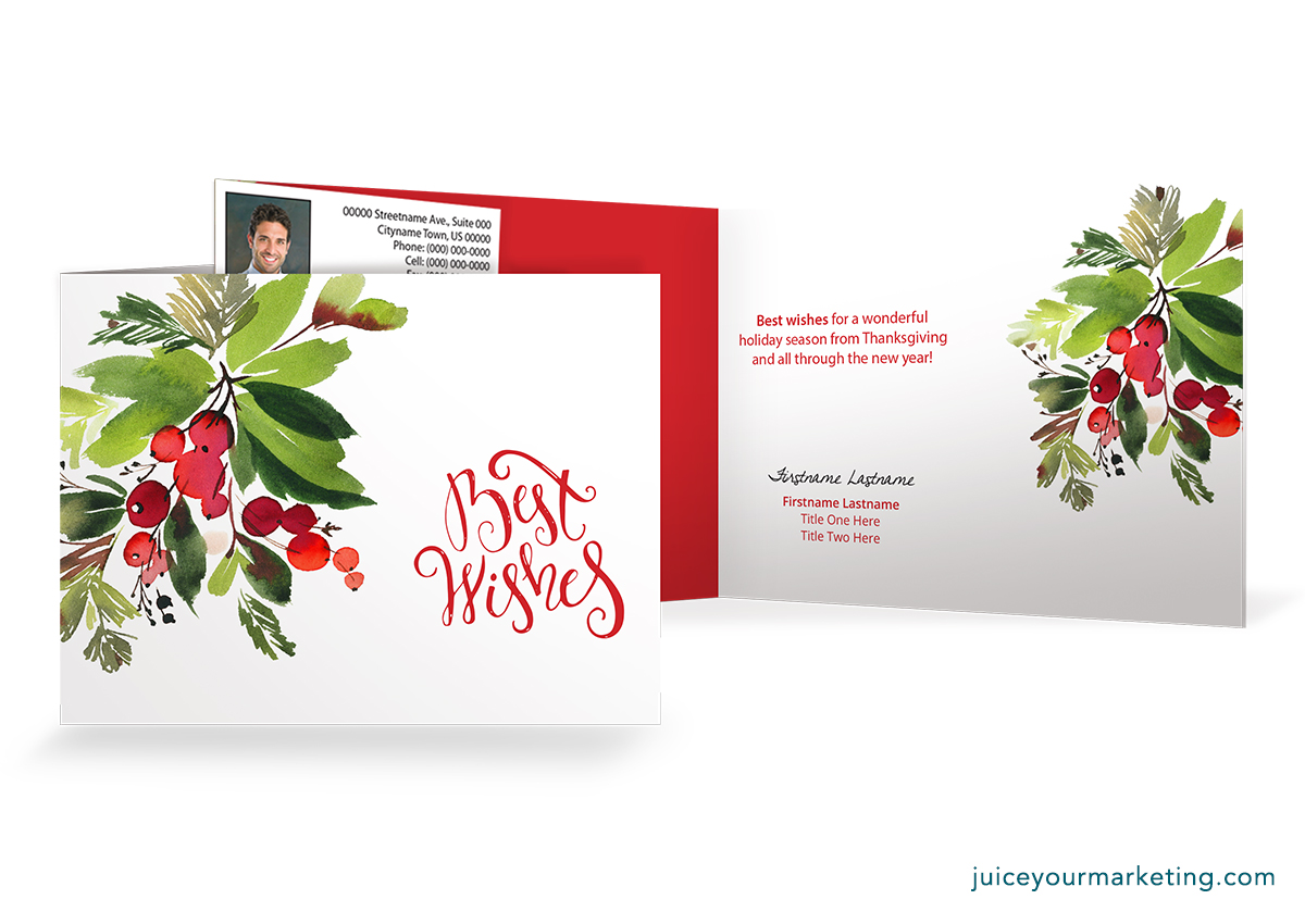 Holiday Season - Thanksgiving to New Year - Card