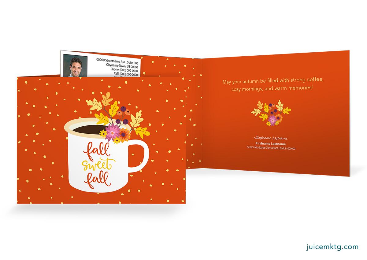 Fall Sweet Fall - Folded Card