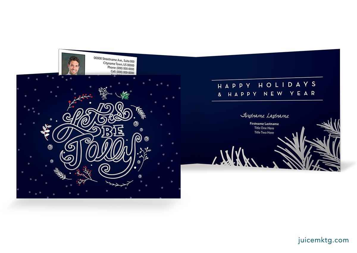 Be Jolly - Folded Card