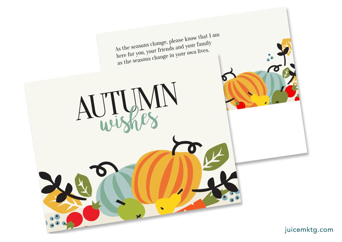 Autumn Winter - Postcard