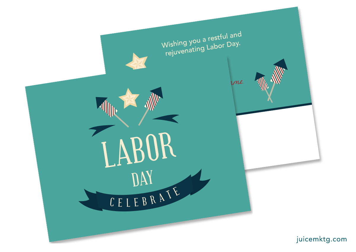 Labor Day - Postcard