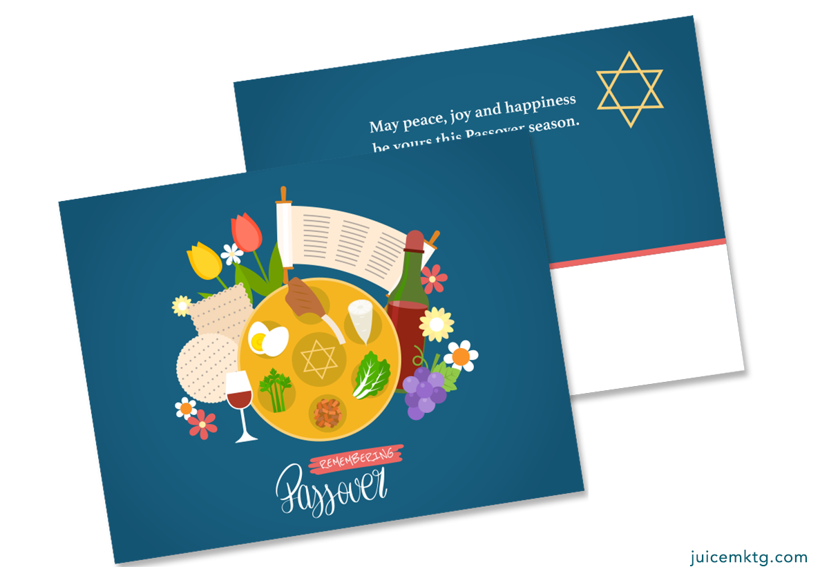 Passover - Postcard