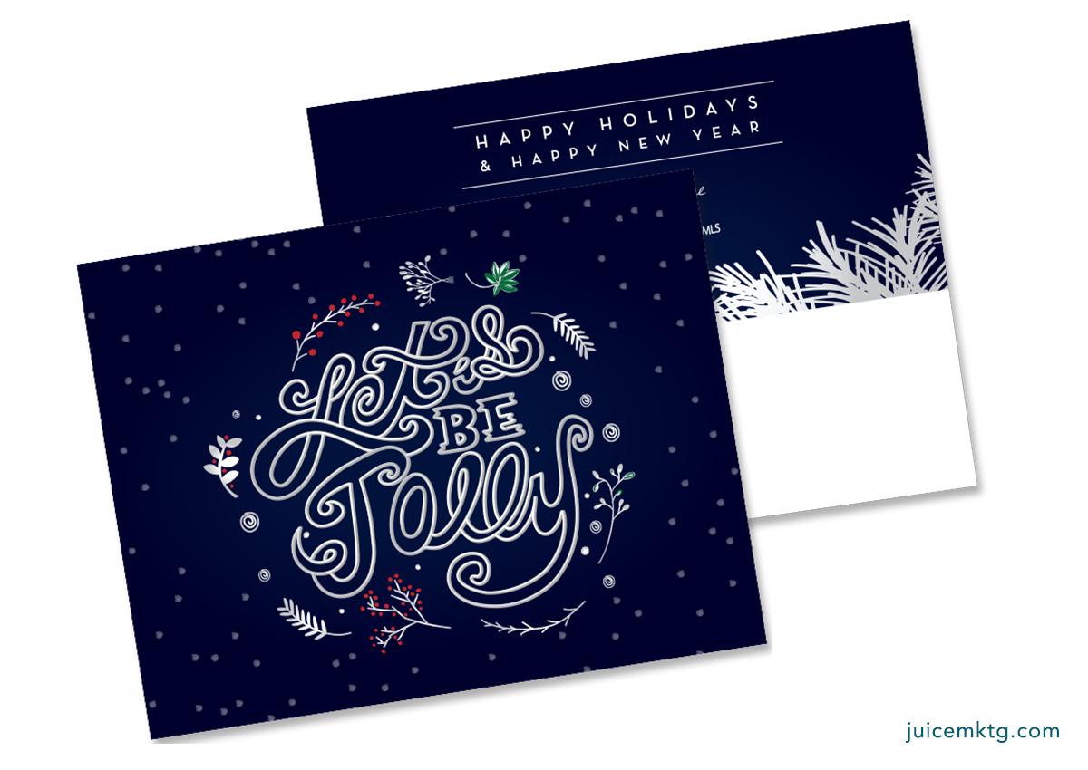 Be Jolly - Postcard