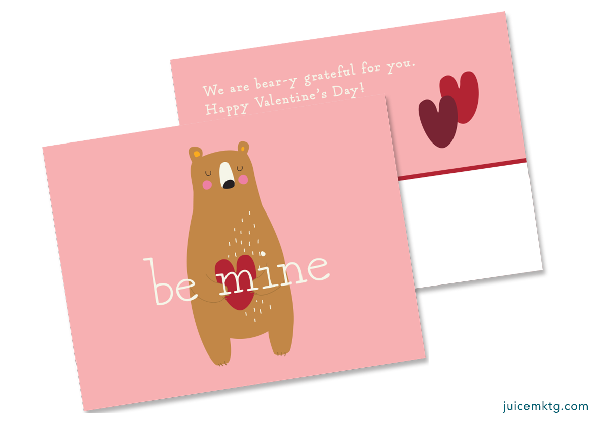 Be Mine - Postcard