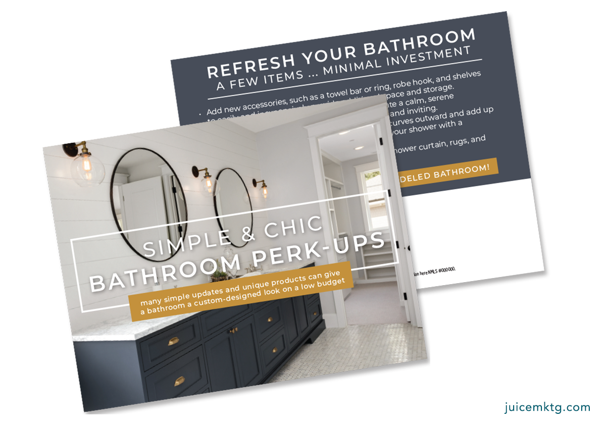 Bathroom Perk-Ups