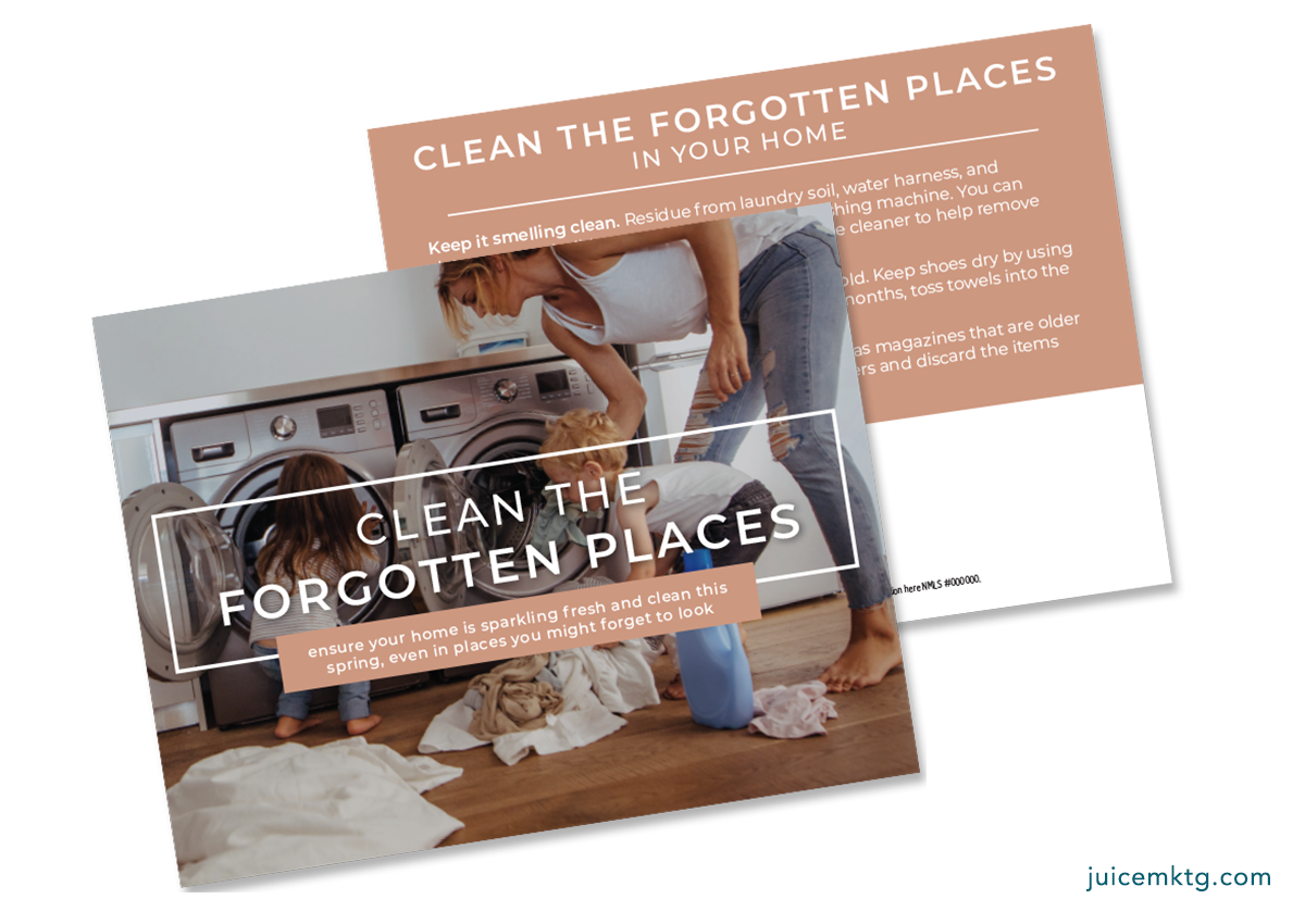 Clean the Forgotten Places