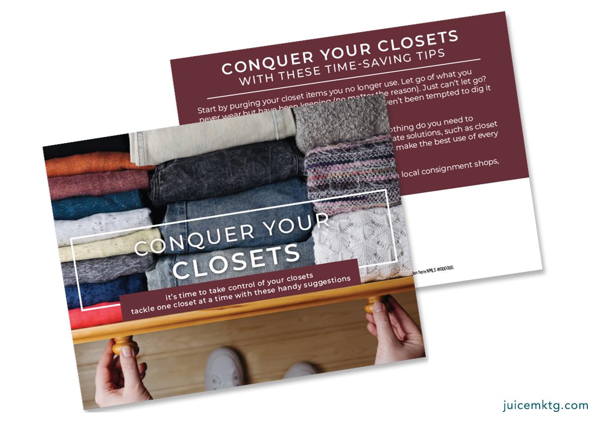 Conquer Your Closet