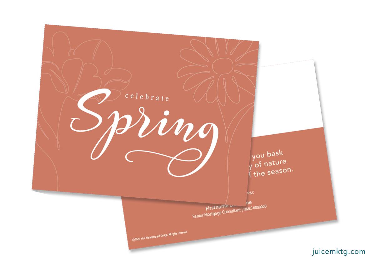 Spring - Simplicity Postcard