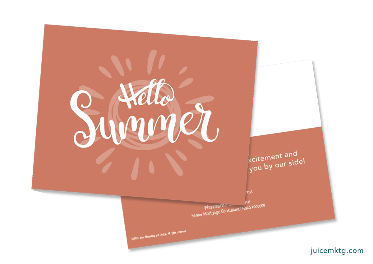 Summer - Simplicity Postcard