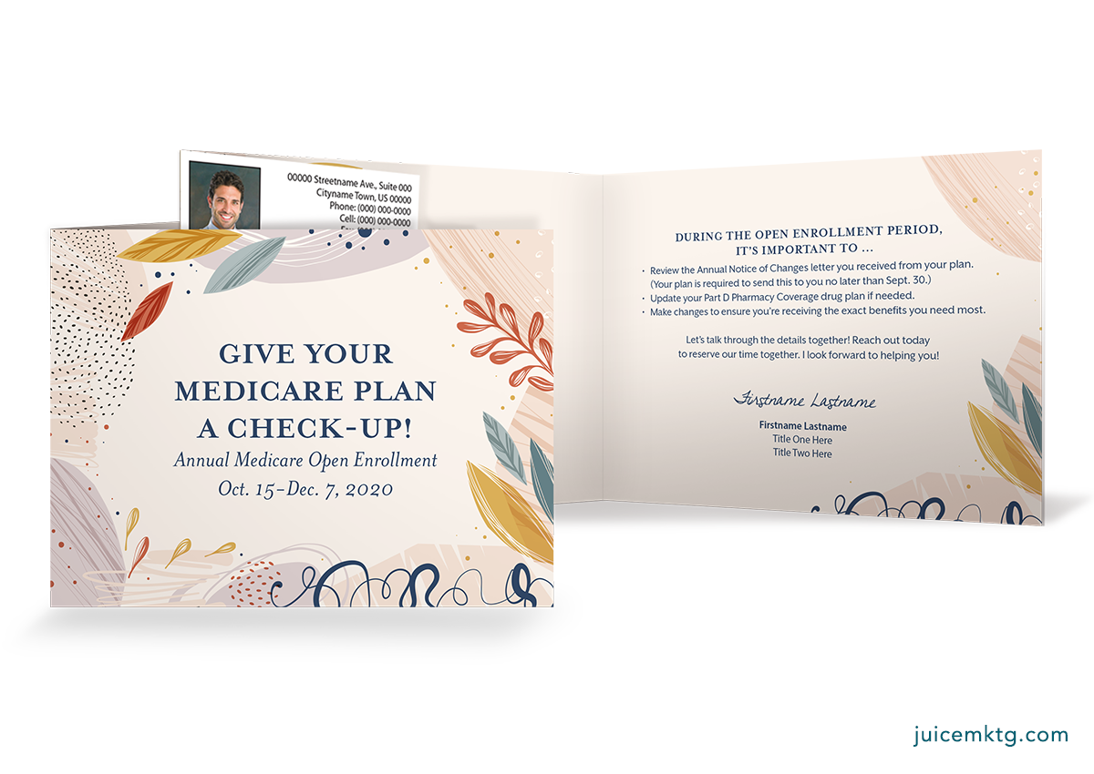 Medicare Industry - Folded Card
