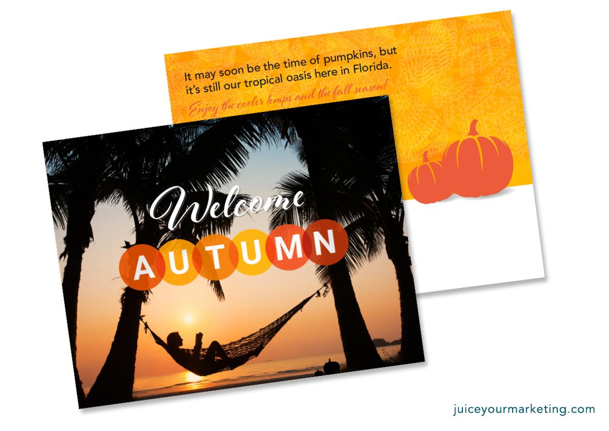 Fall - Florida Fall Postcard