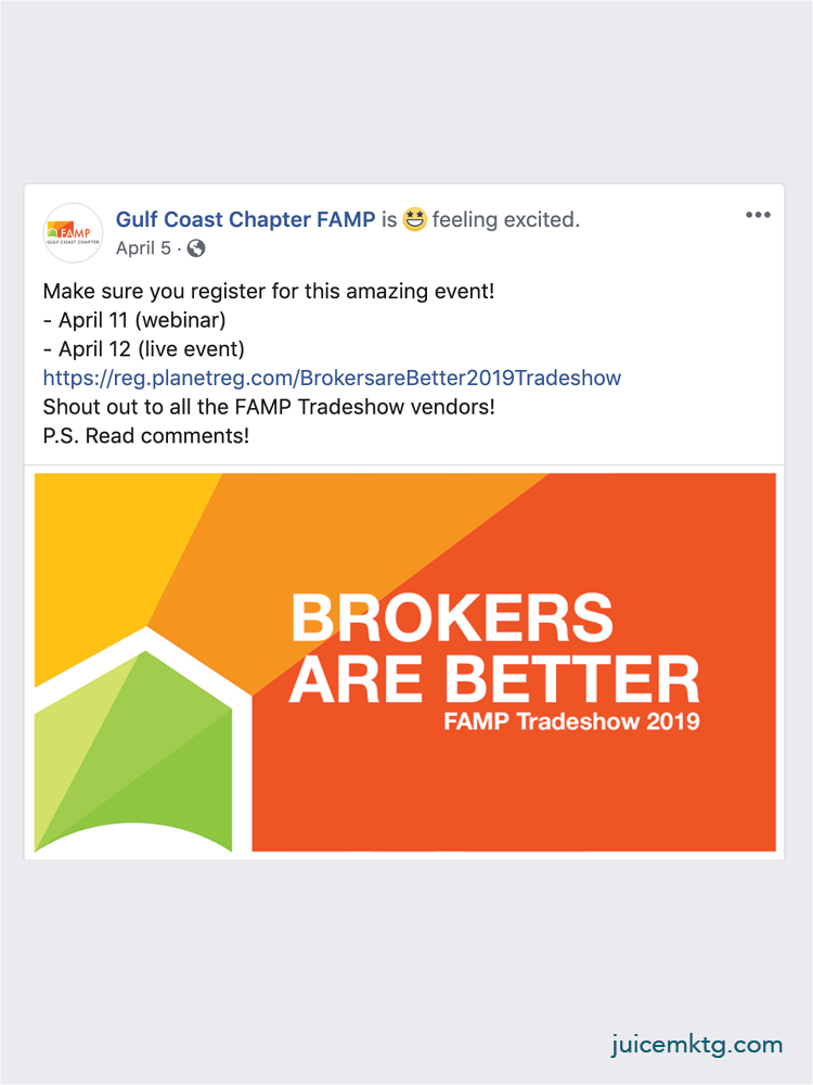 Gulf Coast FAMP - Event