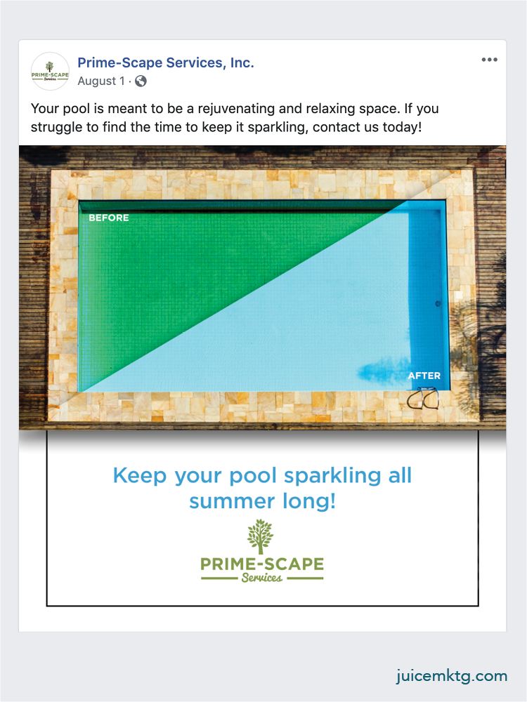 Prime-Scape Services - Pool