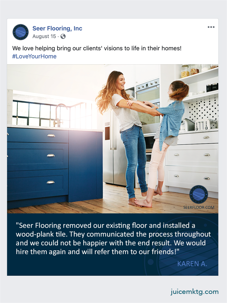 Seer Flooring - Review