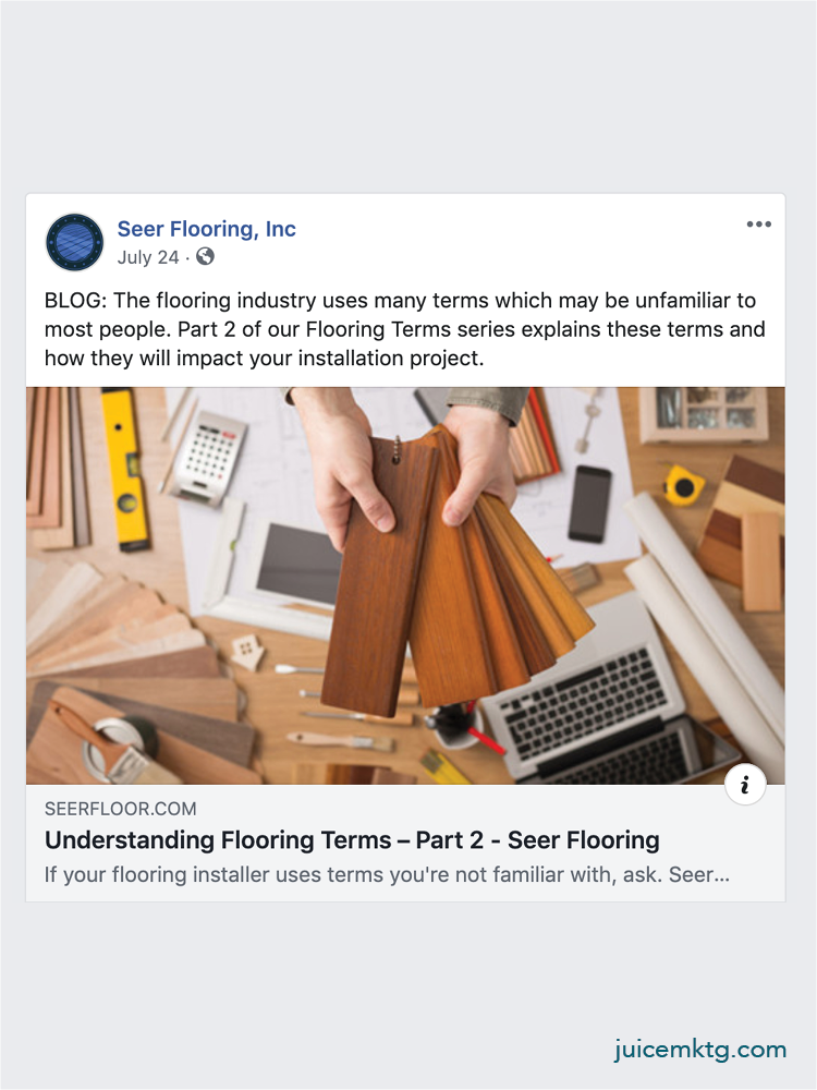 Seer Flooring - Blog