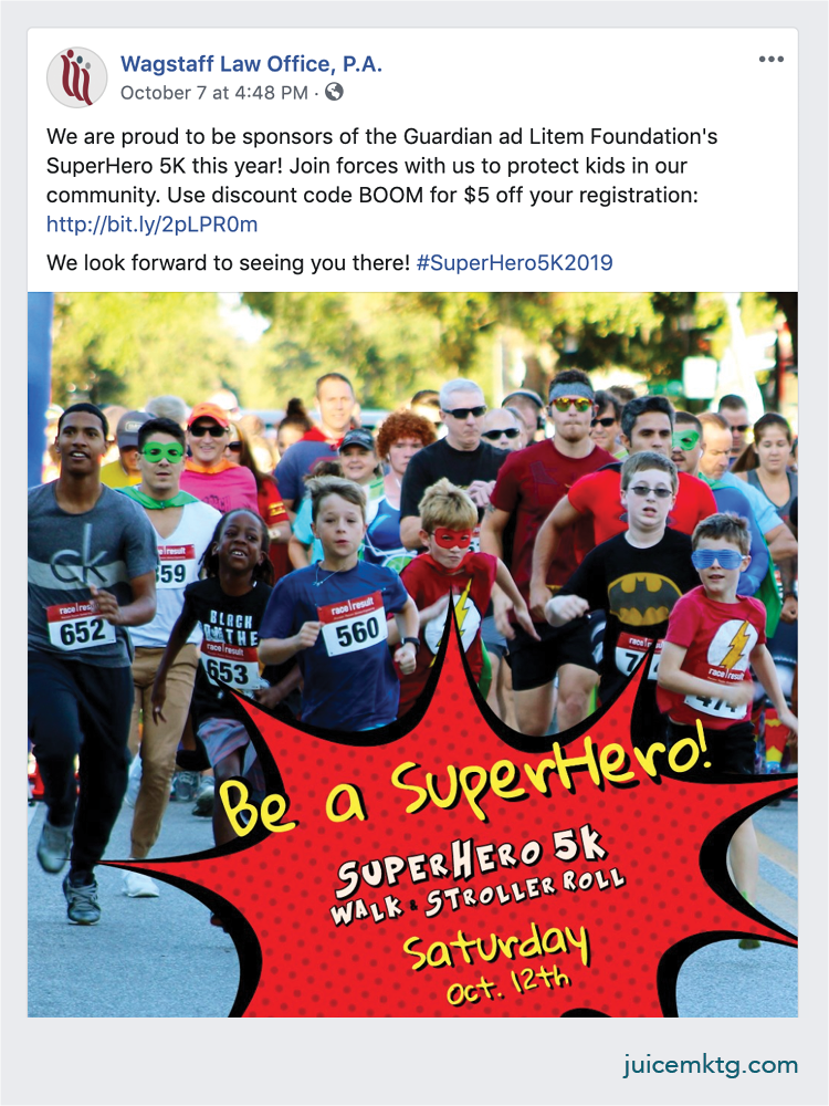 Wagstaff Law - SuperHero 5k